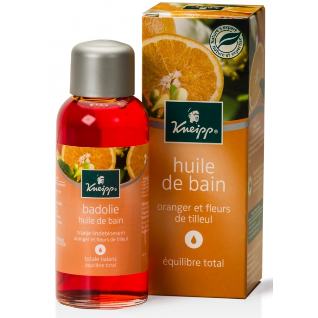 huile de bain fleurs de tilleul et oranger 100ml kneipp. Black Bedroom Furniture Sets. Home Design Ideas
