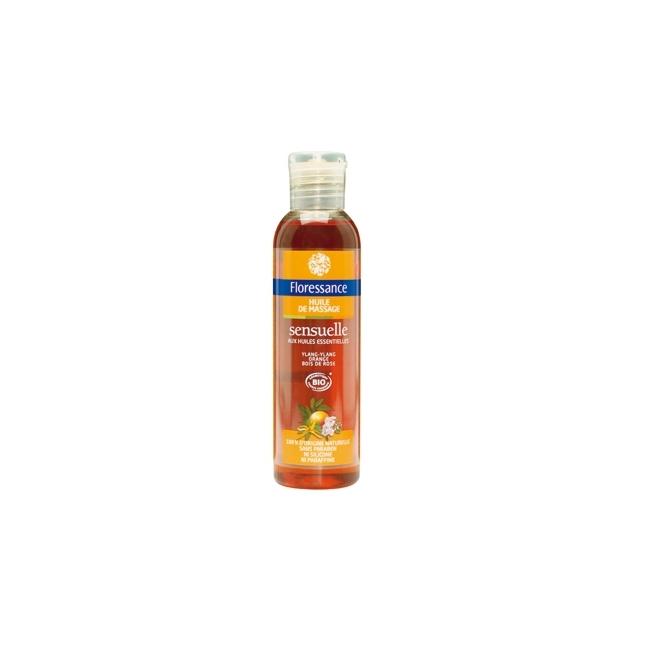 Huile de massage sensuelle 150mL Floressance - huile naturelle