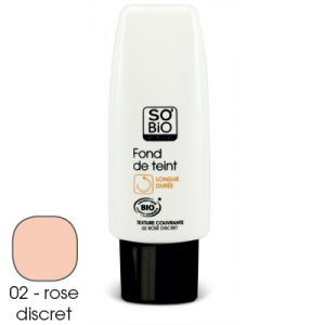 fond de teint rose discret 30ml so 39 bio tic fond de teint naturel. Black Bedroom Furniture Sets. Home Design Ideas