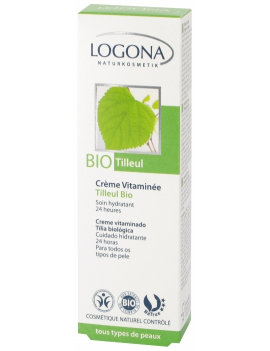 Crème vitaminée au tilleul bio 40mL Logona
