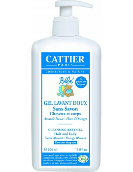 Gel lavant doux 500ml Cattier