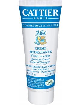 Crème hydratante 75ml Cattier