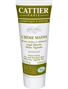 Crème mains 75ml Cattier