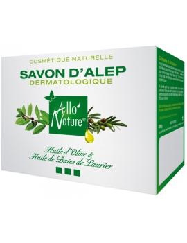 Savon d'Alep dermatologique 200g Allo'Nature