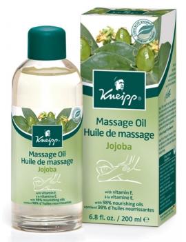 Huile de massage jojoba 200ml Kneipp