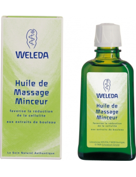 Huile de massage Minceur 100mL Weleda