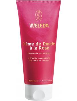 Crème de douche à la Rose 200mL Weleda