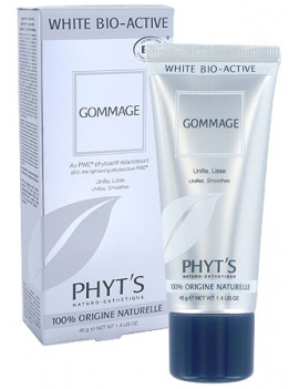 Gommage éclaircissant White Bio-Active 40g Phyt's