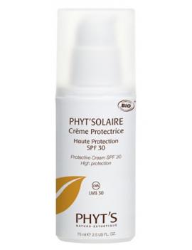 Crème Solaire Protectrice bio SPF 30 75mL Phyt's