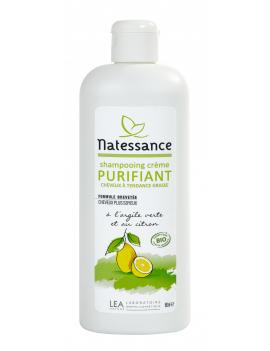 Shampoing crème Purifiant 500mL Natessance