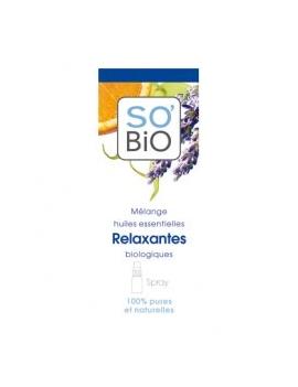 Spray mélange d'huiles essentielles Relaxantes 15mL SO'BiO étic