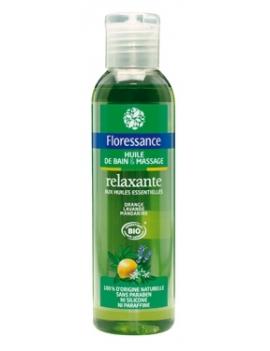Huile de bain et massage relaxante 150mL Floressance