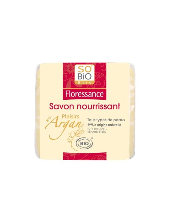 Savon nourrissant Plaisirs d'Argan bio 100g Floressance