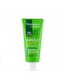 Masque purifiant à l'argile verte Montmorillonite 75mL Floressance