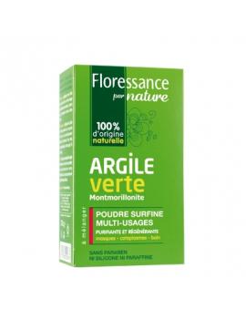 Poudre surfine argile verte Montmorillonite 300g Floressance