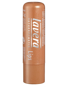 Baume à lèvres Bronze coloré doux Lavera
