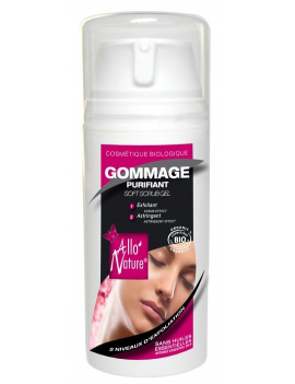 Gommage visage purifiant 100mL Allo'Nature