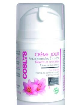 Crème de jour tous types de peaux 50mL Coslys