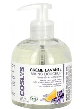 Crème lavante mains lavande et citron 300mL Coslys