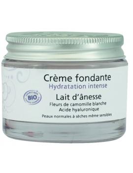 Crème fondante Lait d'ânesse 50mL Secrets de Léa
