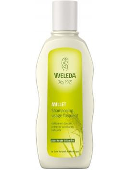 Shampoing usage fréquent au Millet 190mL Weleda