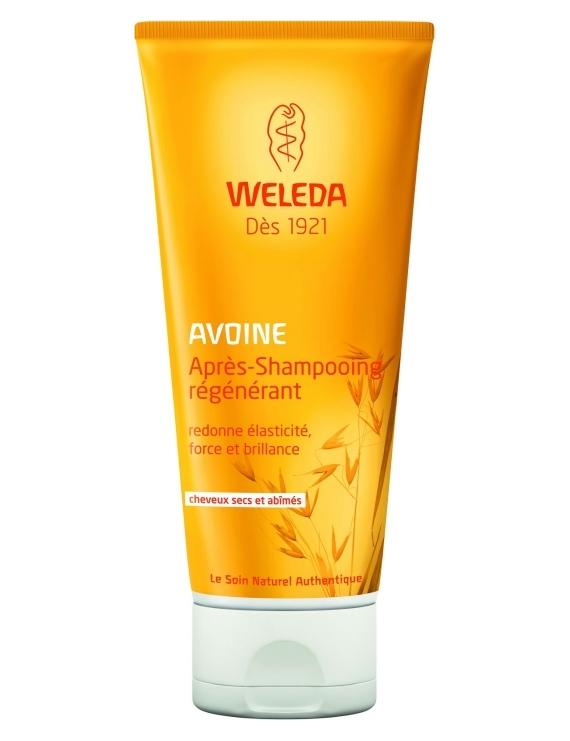 Après-shampoing régénérant à l'Avoine 200mL Weleda