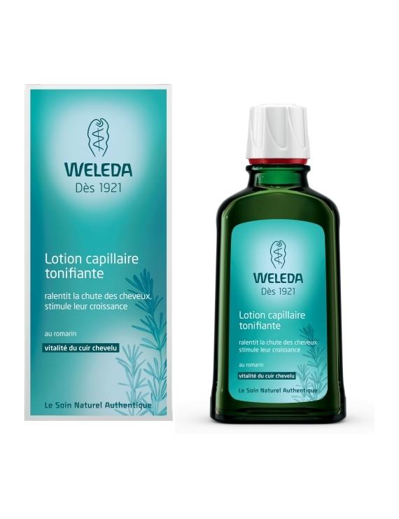 Lotion capillaire tonifiante 10mL Weleda
