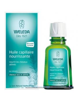 Huile capillaire nourrissante 50mL Weleda
