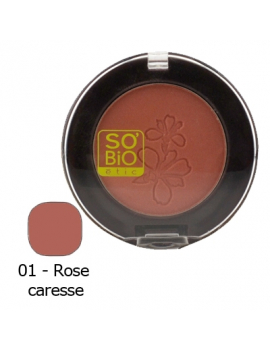 Blush rose caresse 4,5g SO'BiO étic