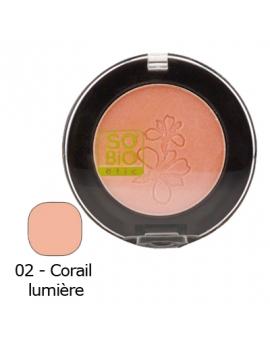 Blush corail lumière 4,5g SO'BiO étic