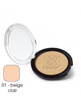 Poudre compacte beige clair 10g SO'BiO étic
